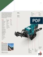 Premiertrak 400 r400 Crushing Brochure en 2014