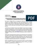 Comunicado de Prensa - Campana Plebiscito 2011 _Javier Aguilu