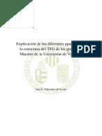 Explicacixn de La Estructura de TFG