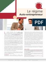 Le régime Auto-entrepreneur