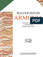 Walter Piston Armonia