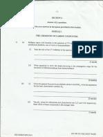 CAPE Chemistry Unit 2 Paper 2 2014