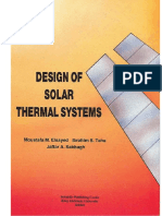 Design of Solar Thermal Systems