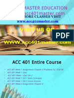 ACC 401 MASTER TEACHING EFFECTIVELY / acc401master.com