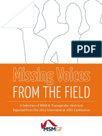 Missing Voices From the Field - A Select