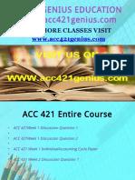 ACC 421 GENIUS TEACHING EFFECTIVELY / acc421genius.com
