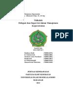 Delegasi Dan Supervisi Dalam Manajemen Keperawatan