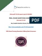 Passleader 70-410 Braindumps