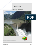 Zambia Energy Sector Profile - September 2014
