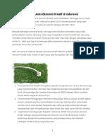 Pengertian dan 15 Jenis Ekonomi KREATIF.docx