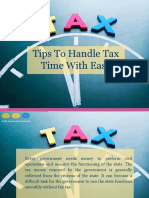 Tips to Handle Tax Time With Ease