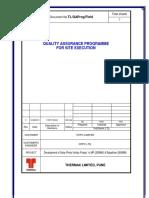 Field Quality Assurance Programme