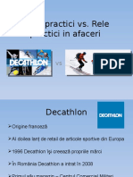 comparatie intre INTERSPORT si DECATHLON