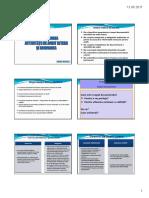 Documentarea misiunii de audit intern