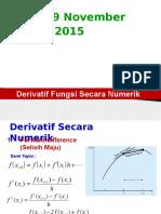 Derivatif Numerik