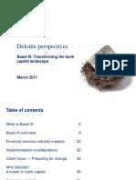 Deloitte_gfsi 1103 Basel III Pov Bank Capital Landscape 2012 03