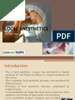 5 - Local Anethetics