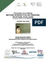 metode_interactive de predare, invatare, evaluare.doc
