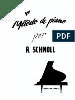 93674113 Metodo de Piano a Schmoll 1ª Parte