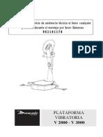 Plataforma Vibratoria V2000y V3000