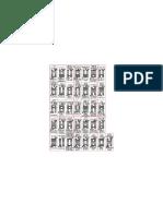 I Ching Hexagrams Reversable Printout
