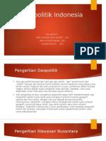 PPT Geopolitik Indonesia