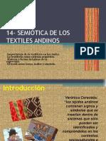 Semiótica de Los Textiles Andinos