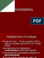6 MUTATIONISMUL