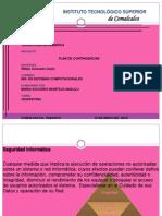 Plan de Contigencia Diapositivas