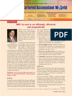 RBI- In Need to Act Efficiently, Effectively and Pragmatically