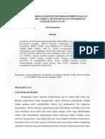 Analisis Penerimaan Sistem Informasi Perpustakaan