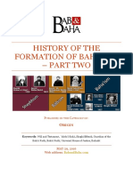 History of Formation of Baha'Ism - Part Two