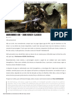Warhammer 40k - Dark Heresy_ Classes! - Rolando Dados