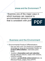 Business and the Environment 7