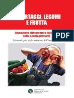 Manuale Per La Formazione Dell'Insegnante - Educazione alimentare e del gusto nella scuola primaria