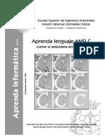 Aprenda Lenguaje ANSI C Como Si Estuviera en Primero