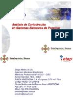 Análisis de Cortocircuito_ETAP 11-Refineria
