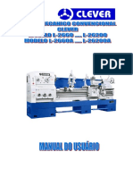 Manual Torno L-26120a