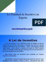 Lei de Incentivo Para Download Atualizada