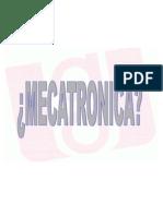 Introducción al Diseño Mecatronico