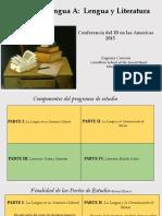 RESUMEN DE GUIA IB LENGUA Y LITERATURA