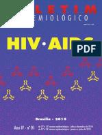 Boletim Epidemológico Aids 2015