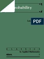 Probabilidade - Probability - Breiman 1992
