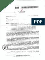 Respuesta sobre carta de apelación