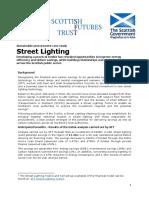 Zero Waste Street Lighting