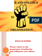 Power and Conflict Ppt