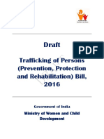 Draft Trafficking of Persons Bill 2016