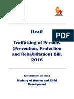 Draft Trafficking of Persons Bill 2016