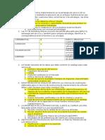 examen gestión de servicios TI