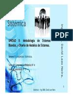 Clase 5 Sistémica UCV